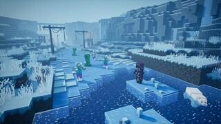 Создатели Minecraft Dungeons показали снежное DLC The Creeping Winter