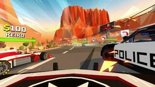 Hotshot Racing  геймплей вдохновлённого Burnout аркадного гоночного симулятора