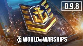 World of Warships празднует пятилетие вместе с обновлением 0.9.8
