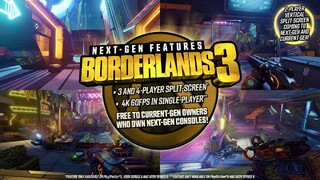 Borderlands 3 выйдет на некстген-консолях и получит новое дополнение