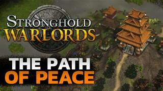 20 минут экнономического геймплея Stronghold Warlords без сражений