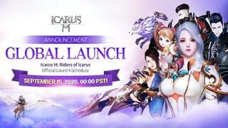Состоялся глобальный релиз мобильной MMORPG Icarus M Riders of Icarus
