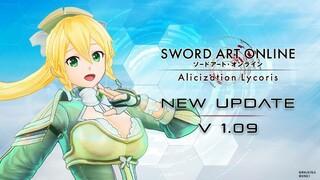 Новые режимы прохождения, экстремальный рейд и другие изменения в Sword Art Online Alicization Lycoris