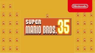 Super Mario Bros. 35  Вышла Королевская битва про Марио