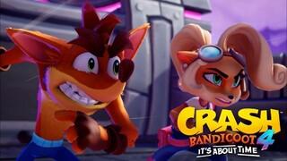 Крэш удачно вернулся  Критики довольны новой игрой Crash Bandicoot 4 Its About Time
