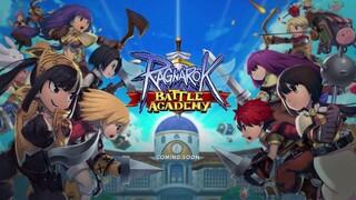 ЗБТ королевской битвы Ragnarok Battle Academy начнётся в четвертом квартале этого года