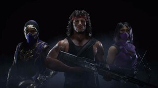 Рэмбо, Милина и Рейн  три будущих персонажа в Mortal Kombat 11