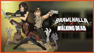 Новый кроссовер в Brawlhalla с героями из Ходячих мертвецов и режимом против зомби
