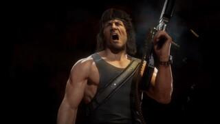 Mortal Kombat 11 геймплейный трейлер Рэмбо