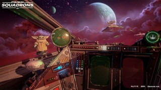 Star Wars Squadrons получит тематическое обновление Мандалорец