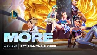League of Legends  Состоялась премьера нового клипа KDA  MORE