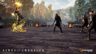 Демонстрация способностей архетипа Cleric в Ashes of Creation