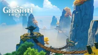 Короткометражный документальный фильм о создании мира Genshin Impact