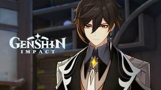 Сюжетный трейлер персонажа Чжун Ли из Genshin Impact