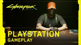 Геймплей Cyberpunk 2077 на PlayStation 4 Pro и PlayStation 5