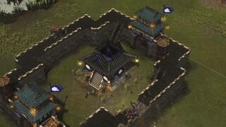 Демонстрация осадных орудий в Stronghold Warlords