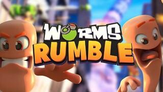 Состоялся релиз новой мультиплеерной игры про червячков Worms Rumble
