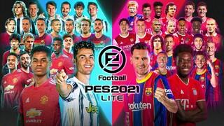 Состоялся релиз PES 2021 LITE  бесплатной версии футбольного симулятора