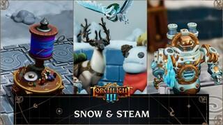 Torchlight III  Вышло обновление Snow amp Steam с реворком Механоида и множеством нововведений