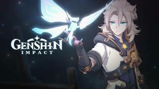 Творчество мастера Альбедо в сюжетном трейлере Genshin Impact
