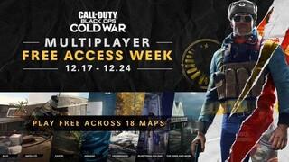 Мультиплеер Call of Duty Black Ops Cold War доступен бесплатно в течение недели