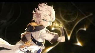 Демонстрация возможностей Альбедо  нового персонажа Genshin Impact