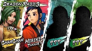 Представлен третий сезонный пропуск для Samurai Shodown, включающий четырех новых персонажей