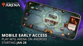 Объявлена дата выхода Magic The Gathering Arena на Android