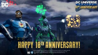 DC Universe Online отмечает десятилетие вместе с новым событием