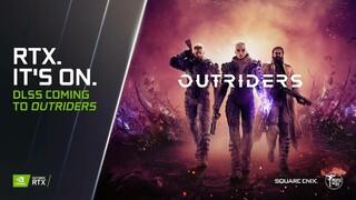 Outriders получит поддержку технологии DLSS от NVIDIA