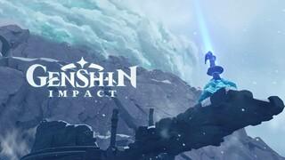 Видео о создании Драконьего хребта в Genshin Impact