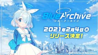 Дата выхода и аниме-трейлер мобильной RPG Blue Archive