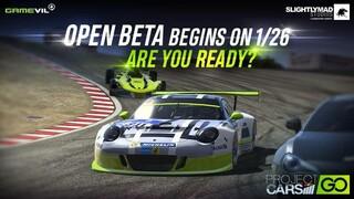 Началось ОБТ мобильной гоночной игры Project CARS GO