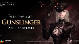 В корейской версии Lost Ark появился новый класс Gunslinger