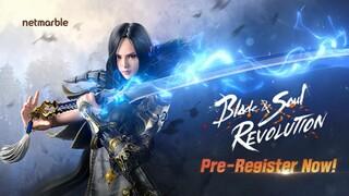 Предрегистрация на глобальную версию Blade and Soul Revolution и предполагаемая дата релиза