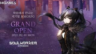 Мобильная MMORPG Soul Worker Academia стартовала в Южной Корее