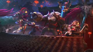 Началось событие Лунный зверь в League of Legends Wild Rift