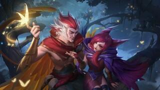 Влюбленная парочка Шая и Рэйкан уже в League of Legends Wild Rift