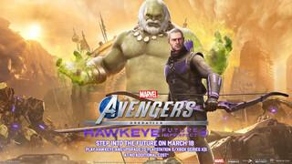 Marvels Avengers  Презентация Соколиного Глаза и версии для нового поколения