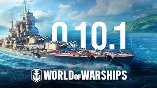 Для World of Warships вышел патч с новыми итальянскими кораблями в раннем доступе