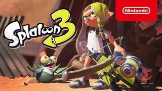 Состоялся анонс Splatoon 3  нового эксклюзивного шутера для Nintendo Switch