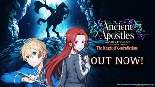 Вышло второе бесплатное сюжетное обновление для Sword Art Online Alicization Lycoris