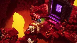 В новом дополнении для Minecraft Dungeons игроки отправляются в Нижний мир