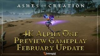 Геймплей предстоящей альфы Ashes of Creation в 4K60FPS