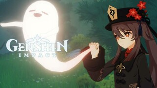 Геймплей за Ху Тао в новом трейлере Genshin Impact
