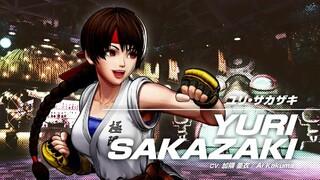 Юри Сакадзаки появится в файтинге The King of Fighters XV
