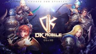 В Южной Корее началось ЗБТ мобильной MMORPG DK Mobile