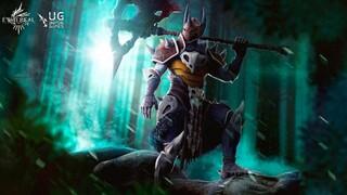 Талос и его огромный боевой топор в Ethereal Clash of Souls