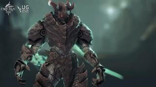 Демон Arawn пожирает души поверженных врагов в Ethereal Clash of Souls