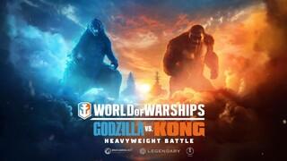 Годзила сразится против Конга в World of Warships